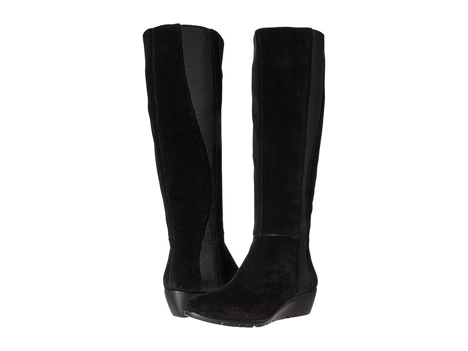 Bandolino - Aamori (Black Suede) Women's Shoes