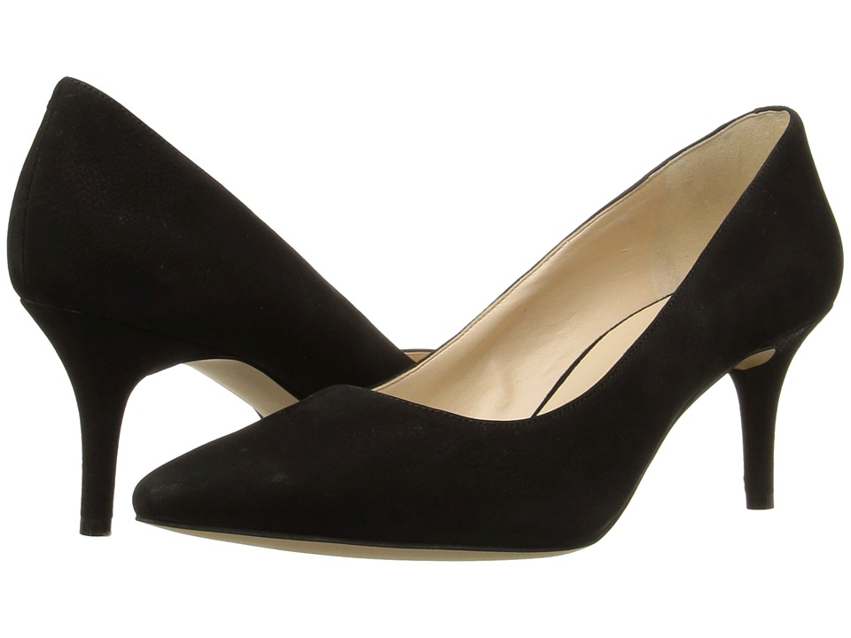 Nine West - Margot (Black Nubuck) High Heels