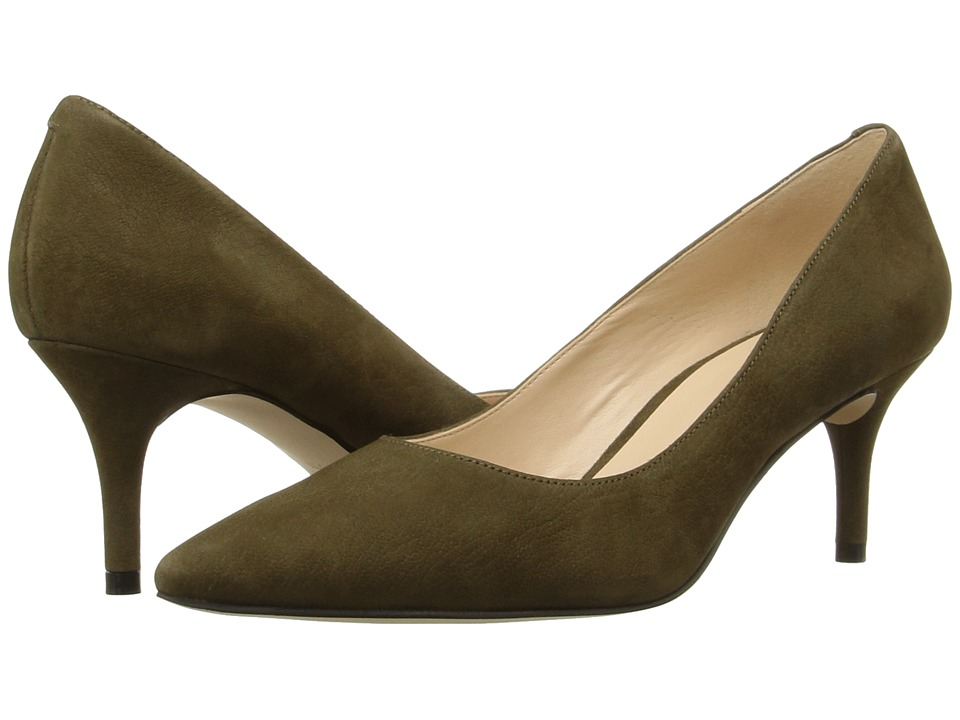 Nine West - Margot (Dark Green Nubuck) High Heels