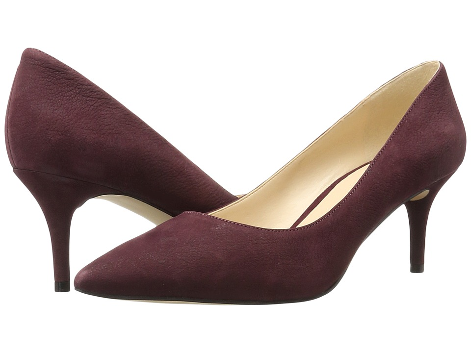 Nine West - Margot (Wine Nubuck) High Heels