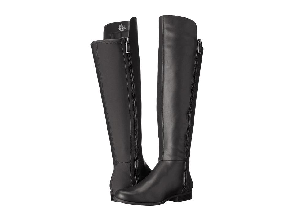 Bandolino - Camme (Black Leather) Women's Shoes