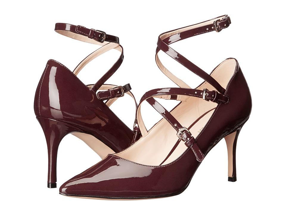 Nine West - Mykela (Wine Synthetic) Women's Shoes