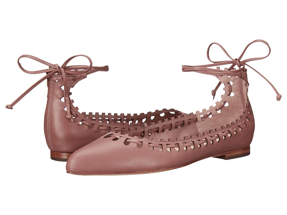 Via Spiga Sammy (Dusty Rose Harvard Calf Leather) Women