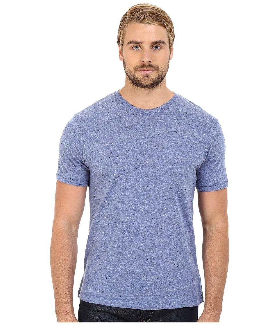 Alternative - Eco Nep Jersey Waterline Tee (Eco Pacific Blue) Men's T Shirt