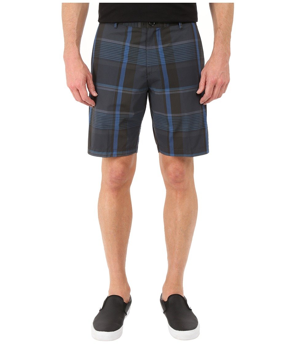 Calvin Klein - Summer Tartan Short (Black) Men's Clothing