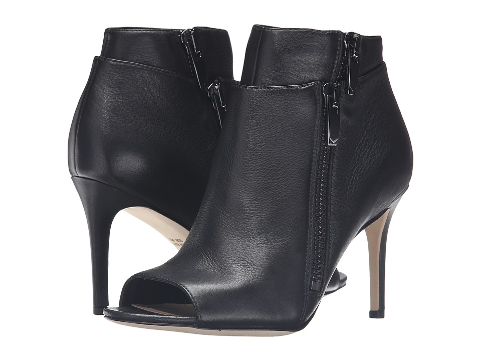 Via Spiga Vanetta (Black Siena Calf Premium) High Heels