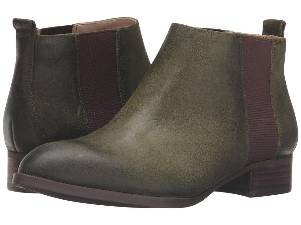 Nine West - Nolynn (Dark Green/Brown Leather) Women's Shoes