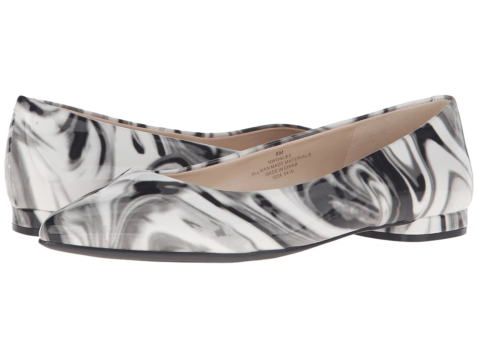 Nine West - Onlee (Grey Multi Synthetic) Women's Shoes