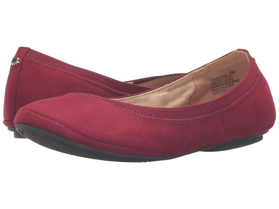 Bandolino - Edition (Wine Suede) Women's Flat Shoes