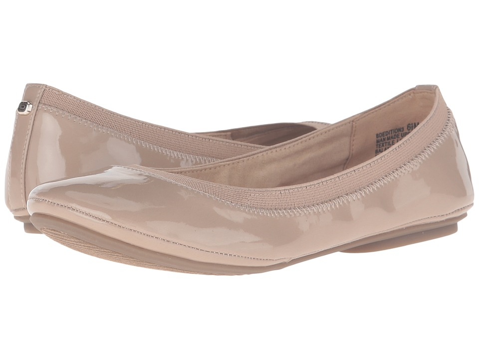 Bandolino - Edition (Caf Latte Patent) Women's Flat Shoes