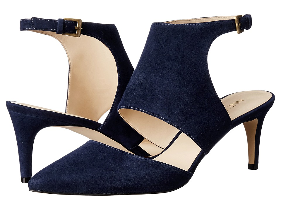 Nine West - Salinda (Navy Suede) Women's Shoes