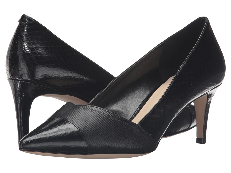 Nine West - Shiro (Black/Black Synthetic) Women's Shoes