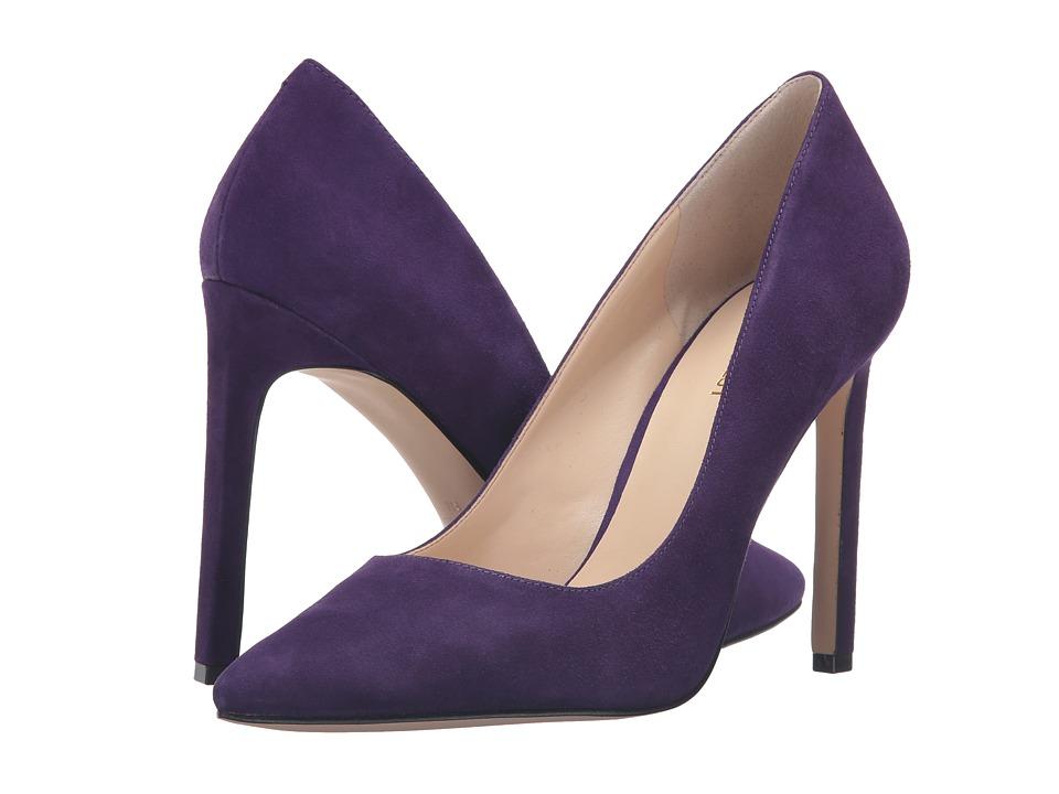 Nine West - Tatiana (Dark Purple Suede) High Heels