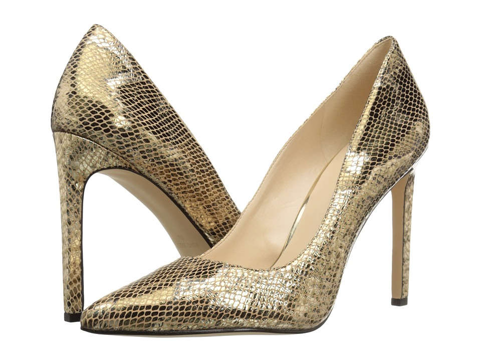 Nine West - Tatiana (Gold Metallic 2) High Heels