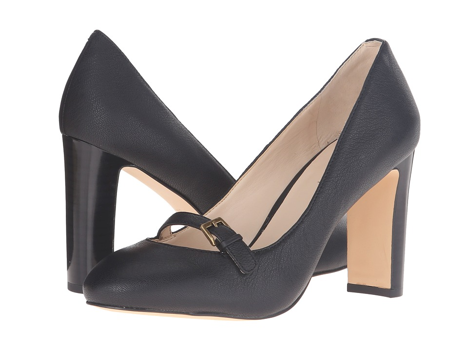 Nine West - Viyana (Black Leather) Women's Shoes