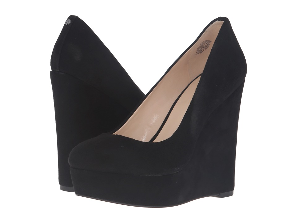 Nine West - Voucher (Black Suede) Women's Shoes