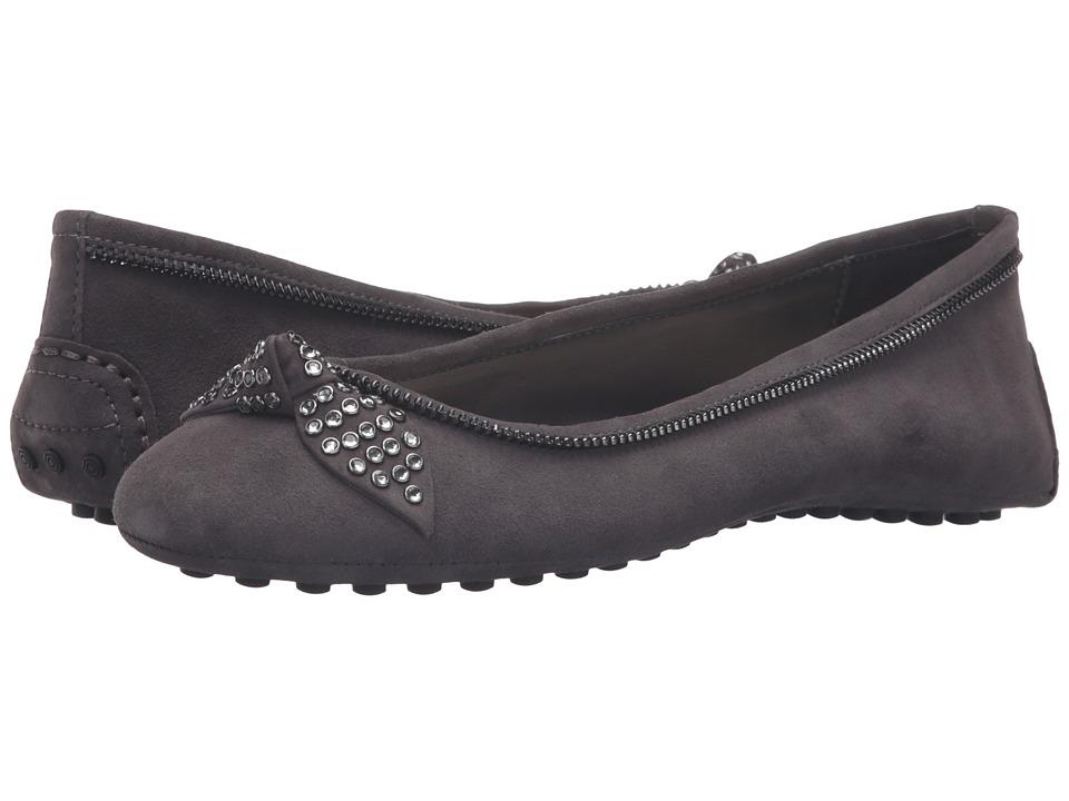Nine West - Winetta (Dark Grey/Dark Grey Suede) Women's Shoes