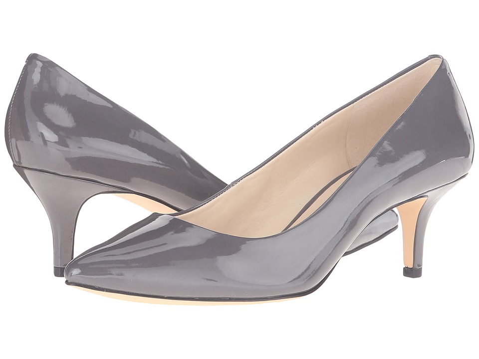 Nine West - Xeena (Dark Grey Synthetic) Women's 1-2 inch heel Shoes