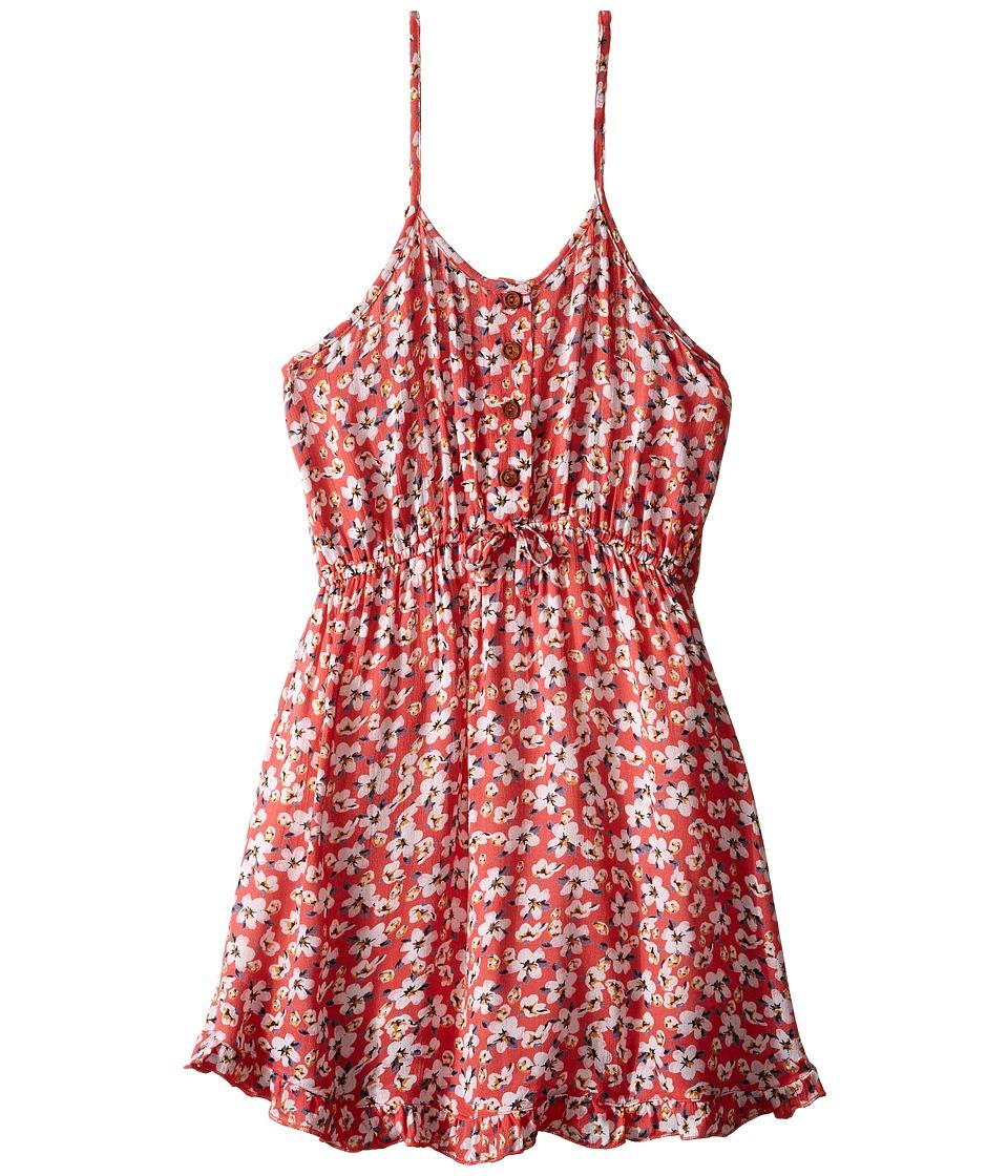 O'Neill Kids - Abbie Dress (Little Kids/Big Kids) (Strawberry) Girl's Dress