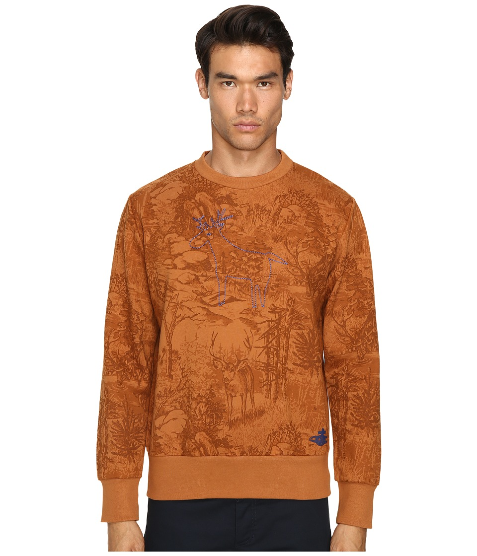 Vivienne Westwood - Deer Sweatshirt (Tan) Men's Sweatshirt