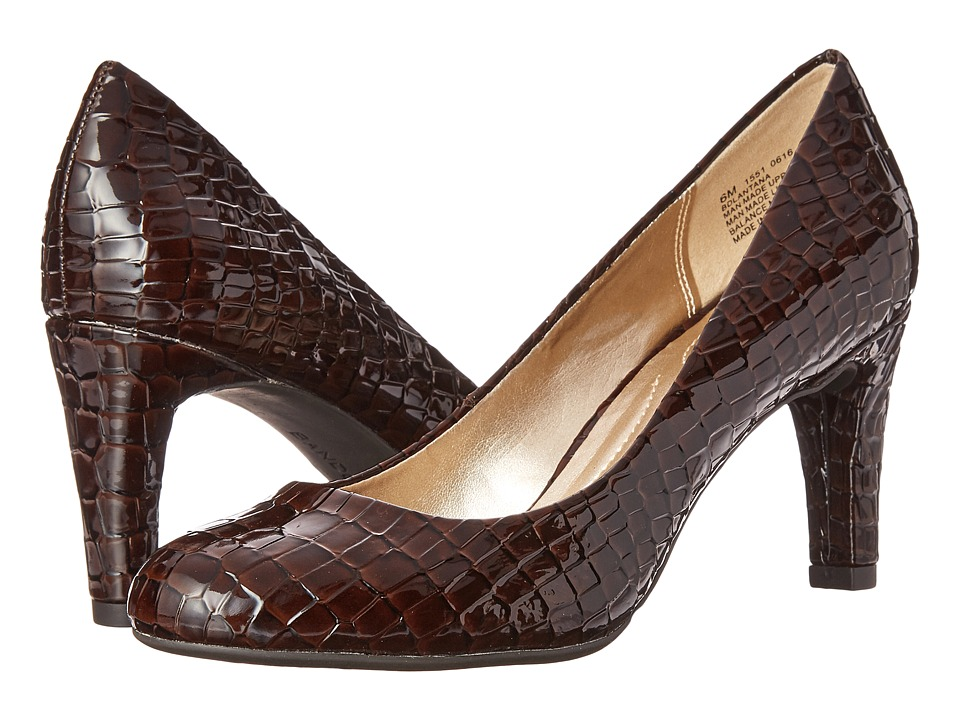 Bandolino - Lantana (Brown Croco Synthetic) High Heels