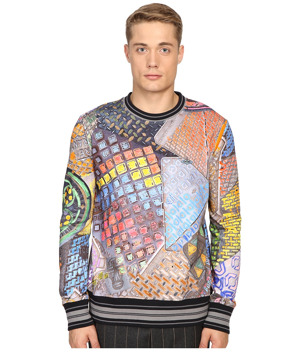 Vivienne Westwood - Manhole Sweatshirt (Multi) Men's Sweatshirt