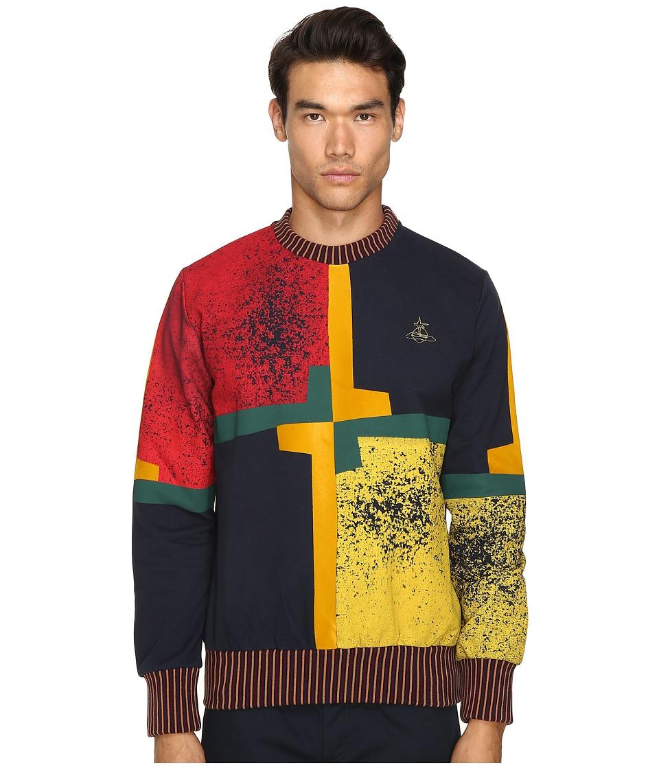 Vivienne Westwood - Jester Sweatshirt (Navy) Men's Sweatshirt