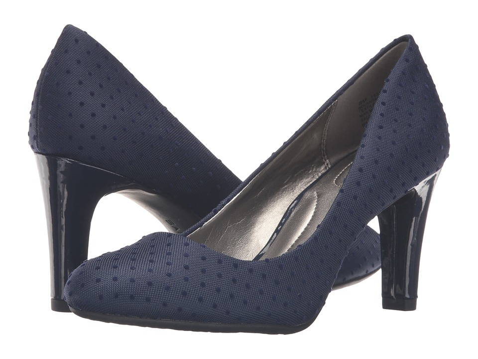Bandolino - Lantana (Navy Swiss Dot) High Heels