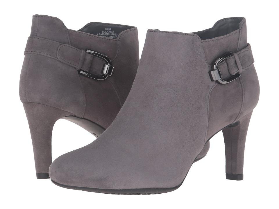 Bandolino Layita (Grey Suede) Women