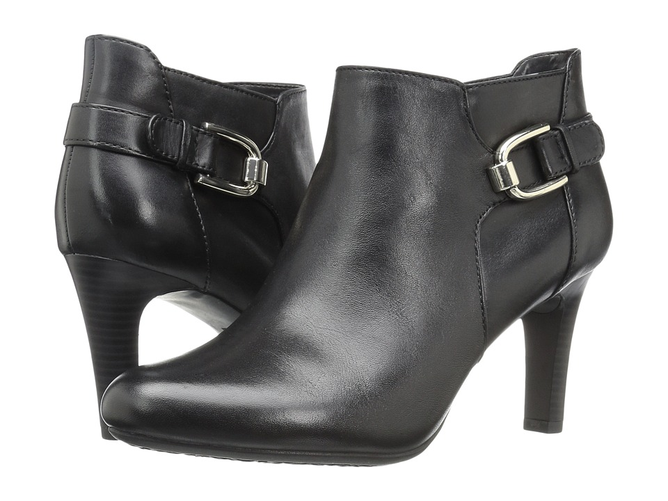 Bandolino - Layita (Black Leather) Women's Shoes