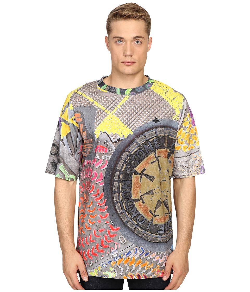 Vivienne Westwood - Horatio Manhole Tee (Multi) Men's T Shirt