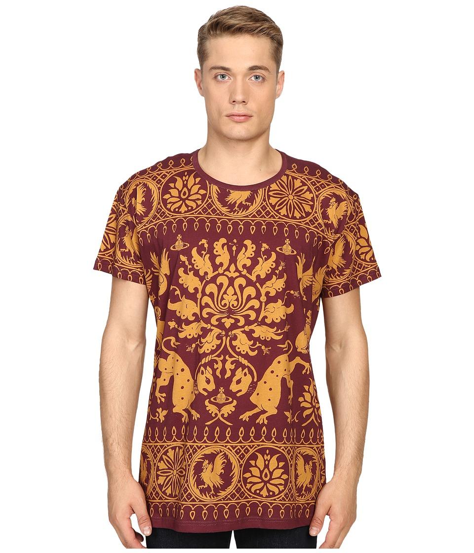 Vivienne Westwood - Medieval Woodcut Tee (Purple) Men's T Shirt