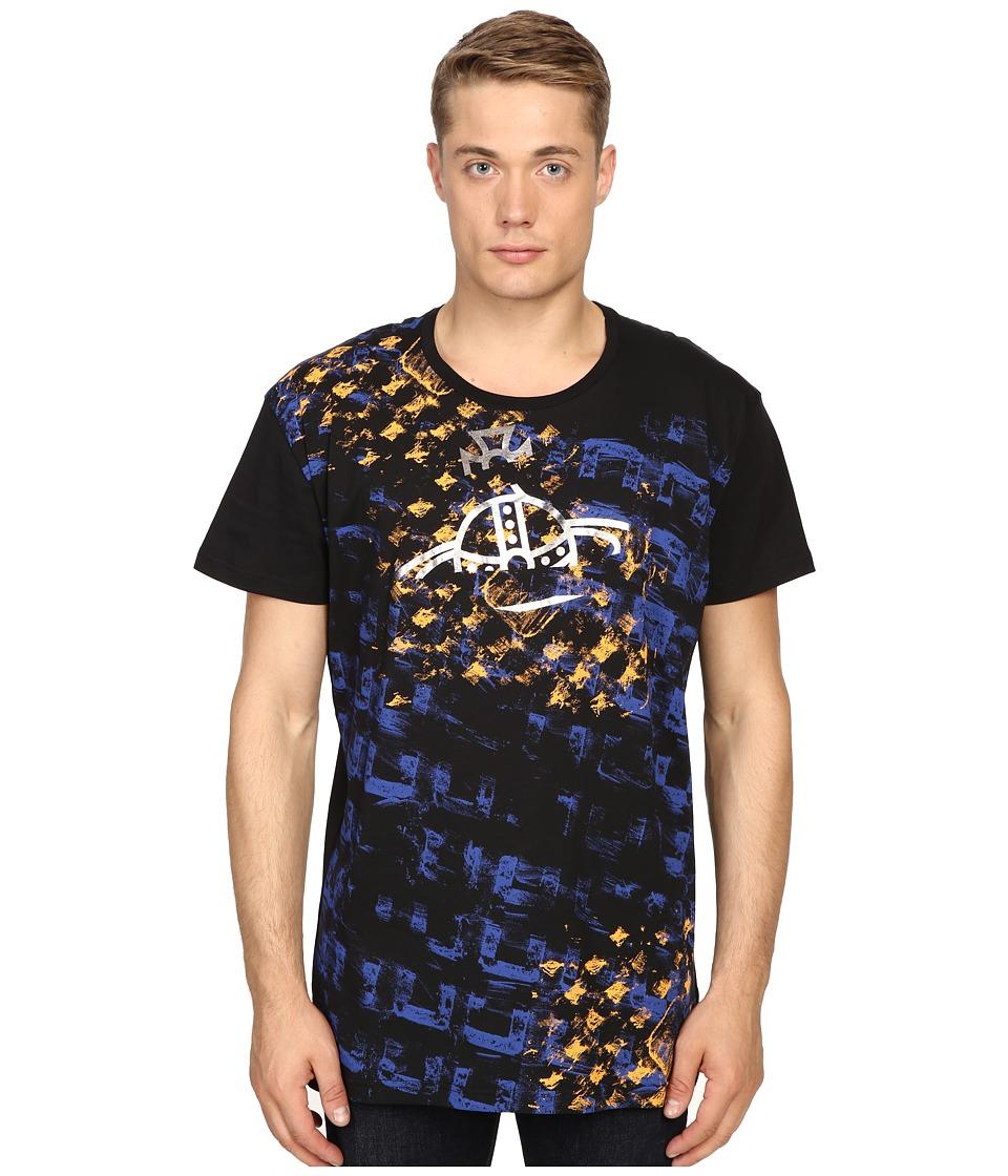 Vivienne Westwood - Manhole Rubbings Tee (Black) Men's T Shirt