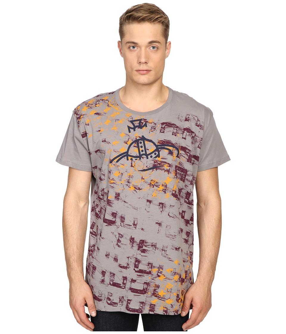 Vivienne Westwood - Manhole Rubbings Tee (Grey) Men's T Shirt