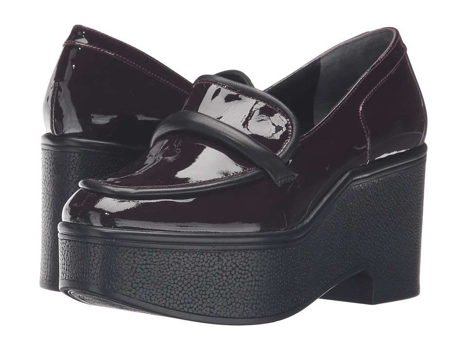 Robert Clergerie - Xocole (Burgundy Patent) Women's Shoes