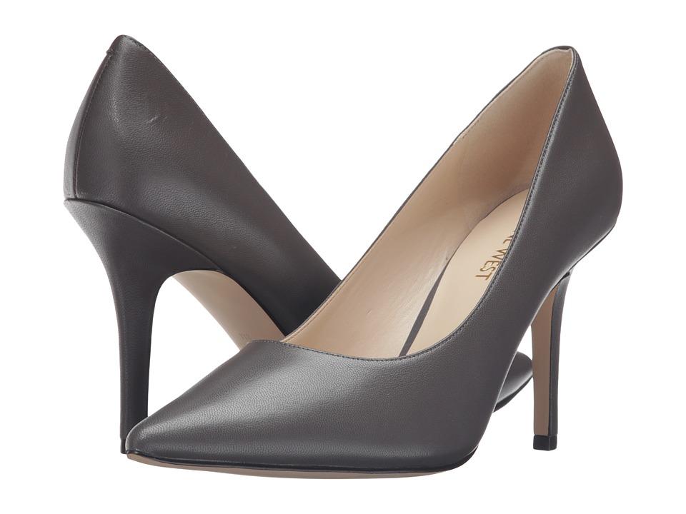 Nine West - Jackpot (Dark Grey Leather) High Heels
