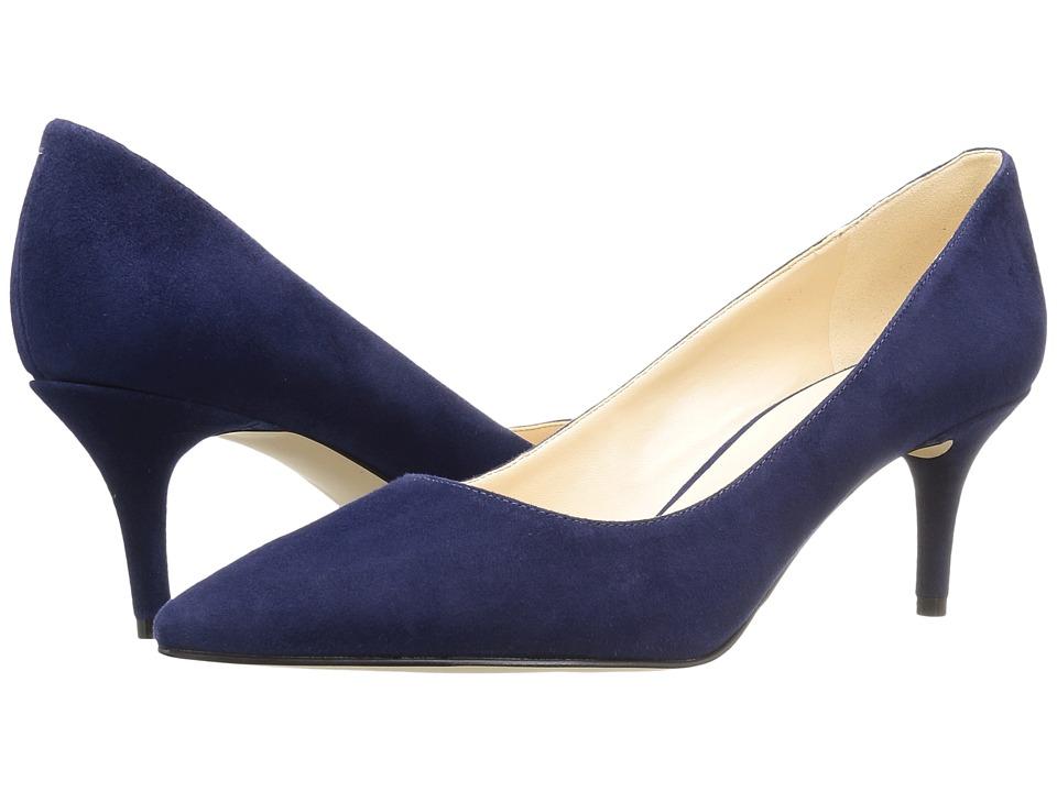 Nine West - Margot (Navy Suede 2) High Heels