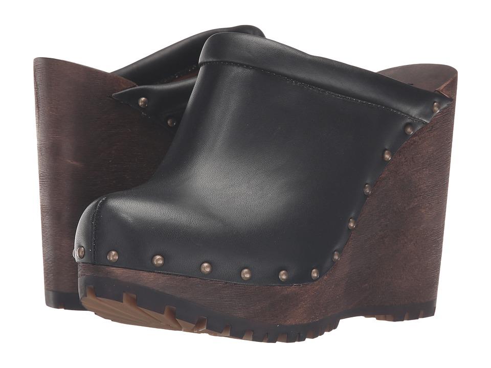 See by Chloe - SB27030 (Black Vegetal Calf) Women's Clog Shoes