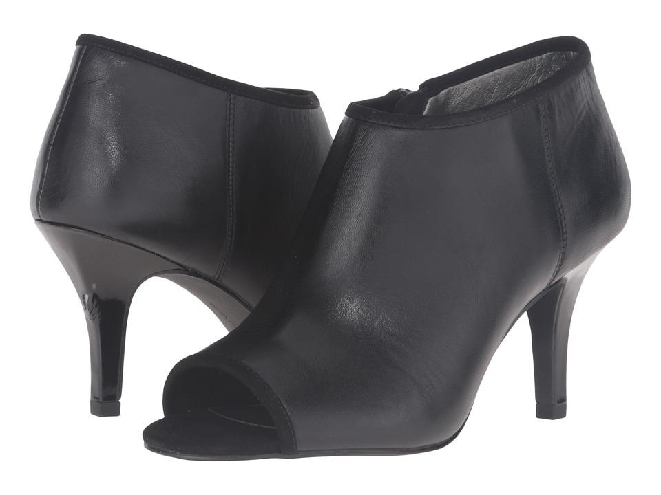 Bandolino - Maiba (Black Leather) Women's Shoes