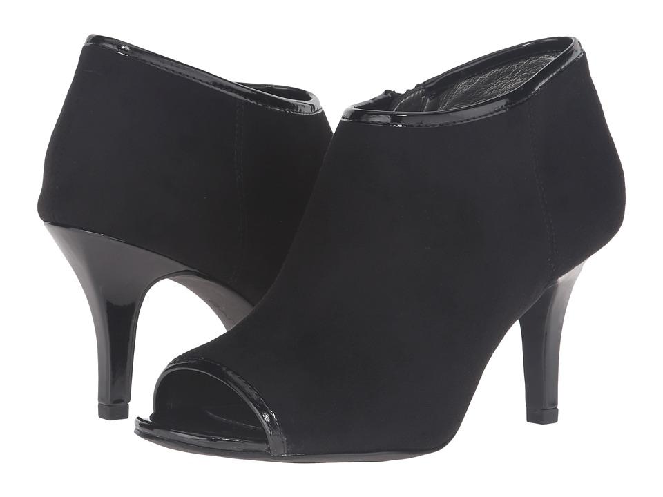 Bandolino - Maiba (Black Suede) Women's Shoes