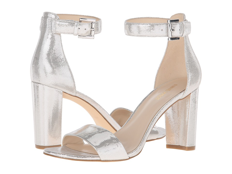 Nine West - Nora (Silver Metallic) Women's Shoes
