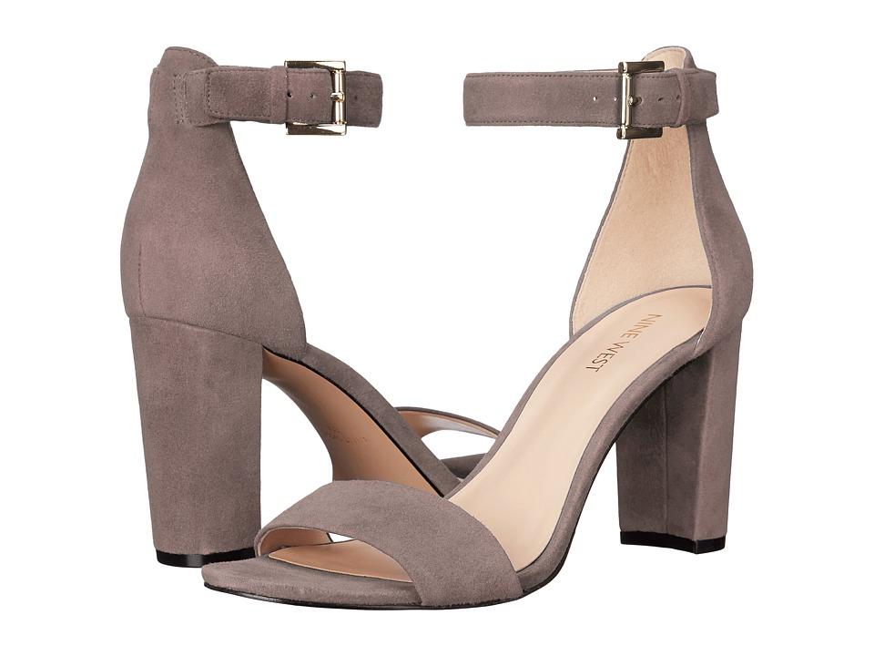 Nine West - Nora (Grey Suede) Women's Shoes