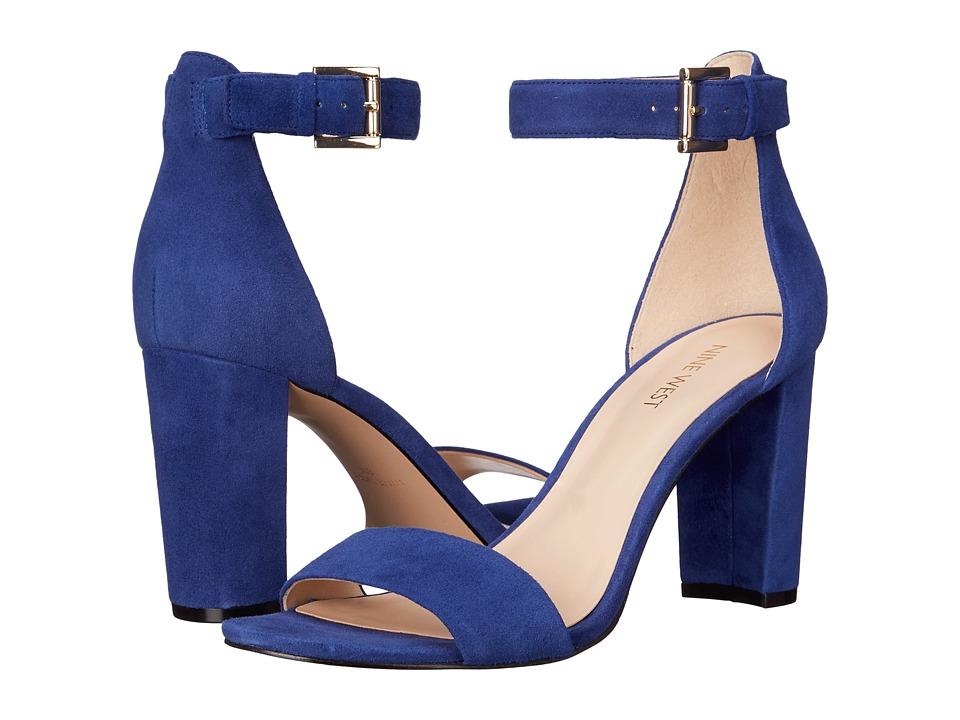 Nine West - Nora (Blue Suede) Women's Shoes