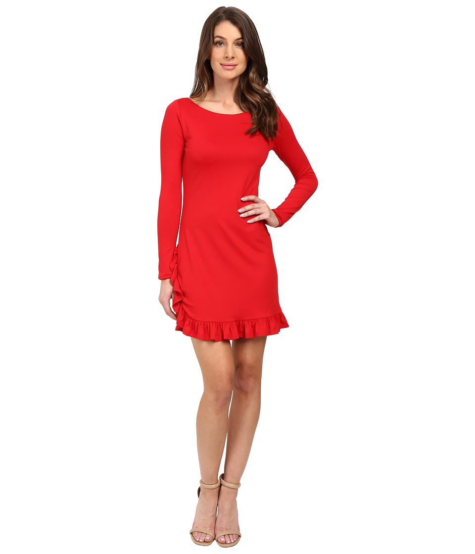 Susana Monaco Olivia Dress (Red) Women