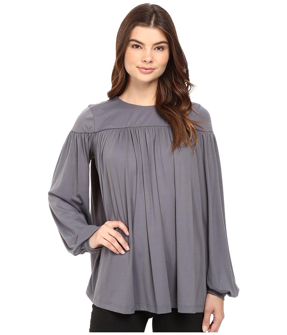 Susana Monaco - Lene Top (Pigeon) Women's Clothing