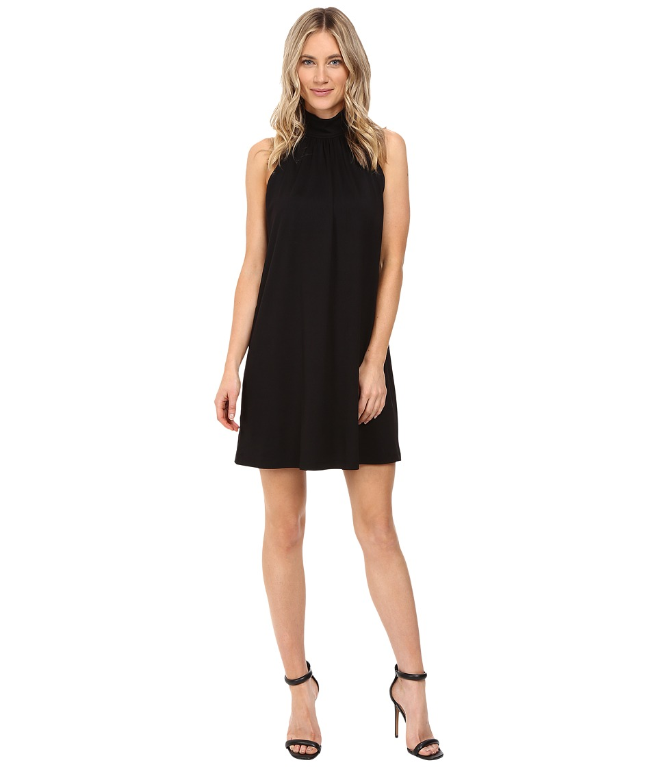 Susana Monaco - Turtleneck Dress (Black) Women's Dress