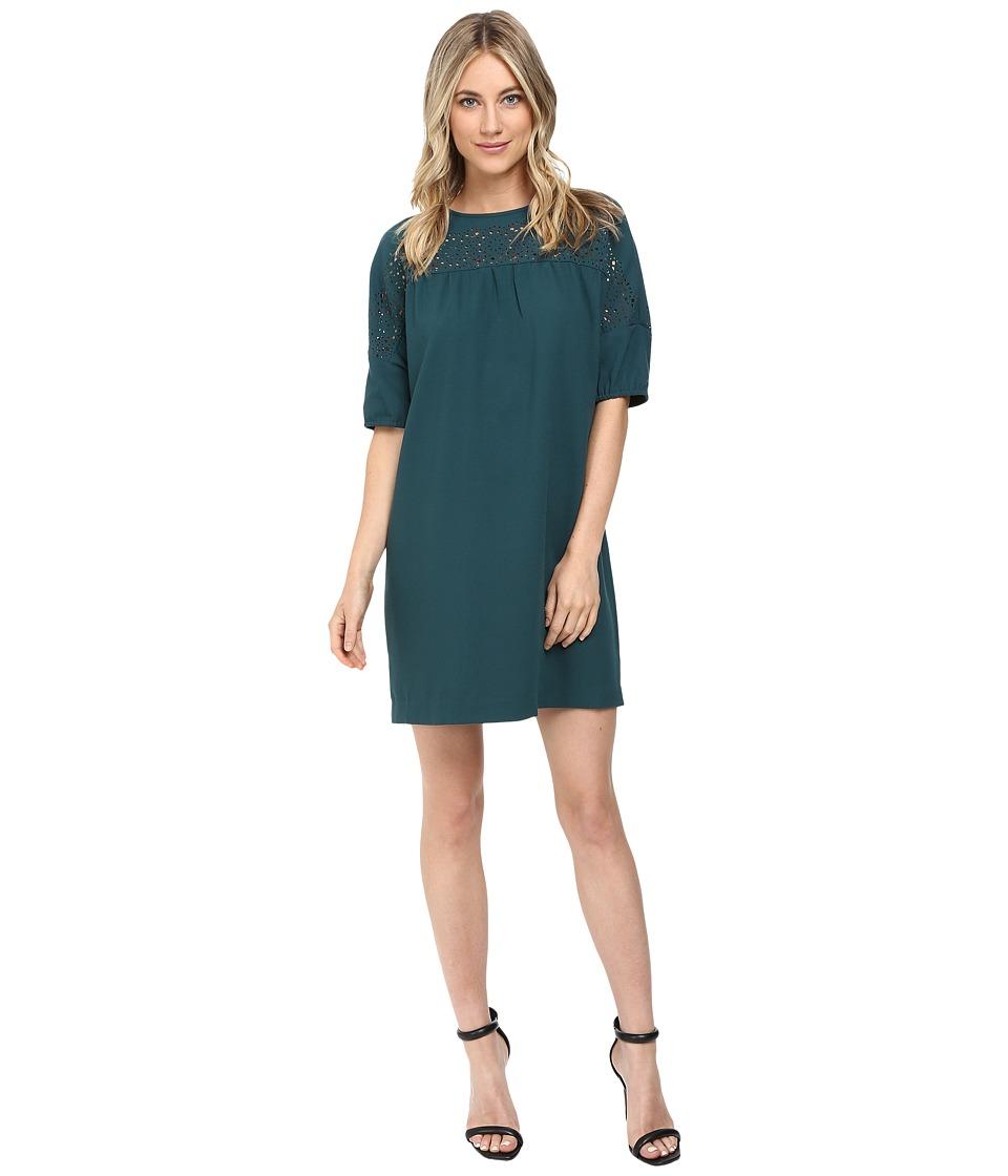 Susana Monaco Tony Dress (Pine) Women