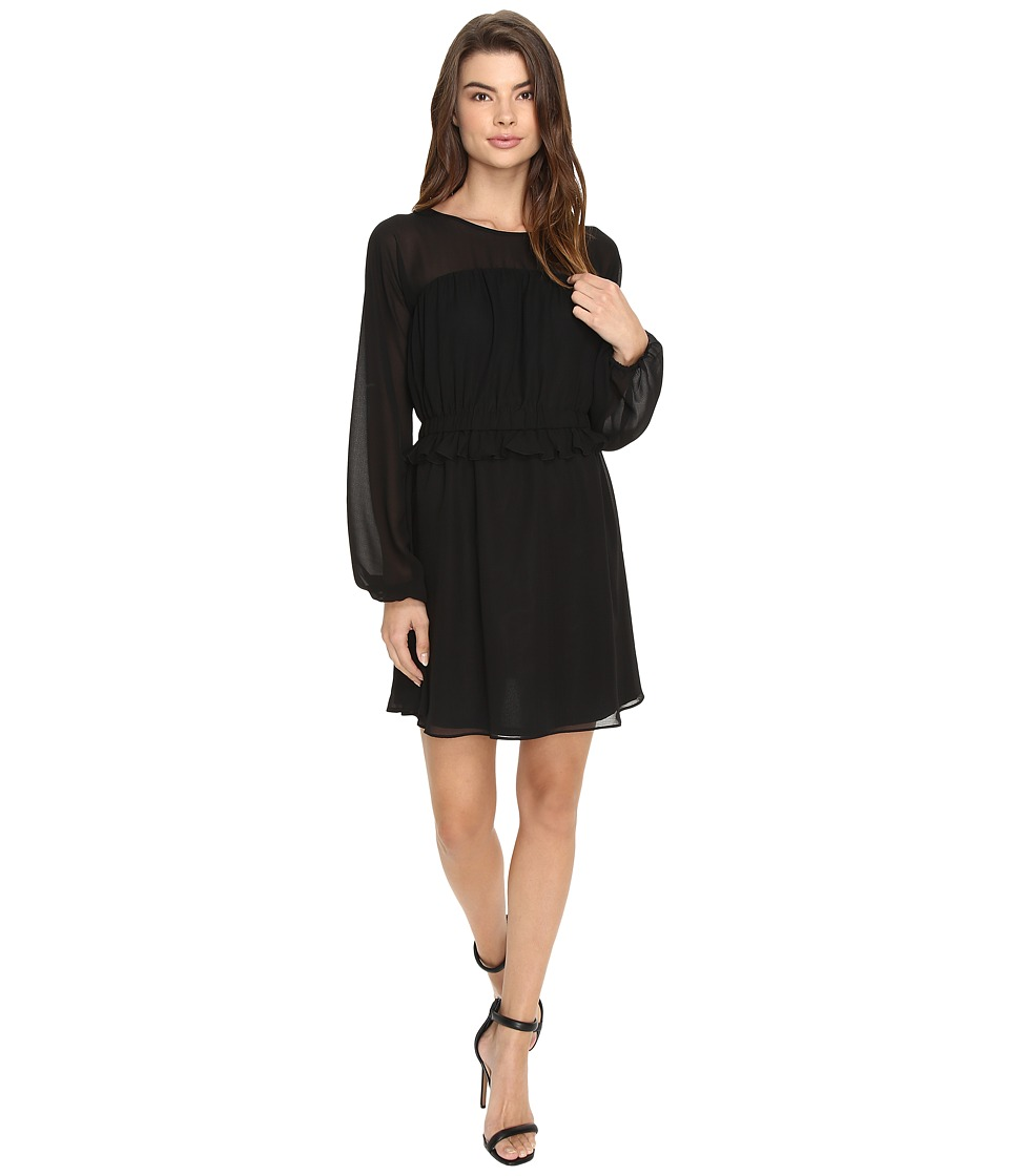 Susana Monaco Gina Dress (Black) Women