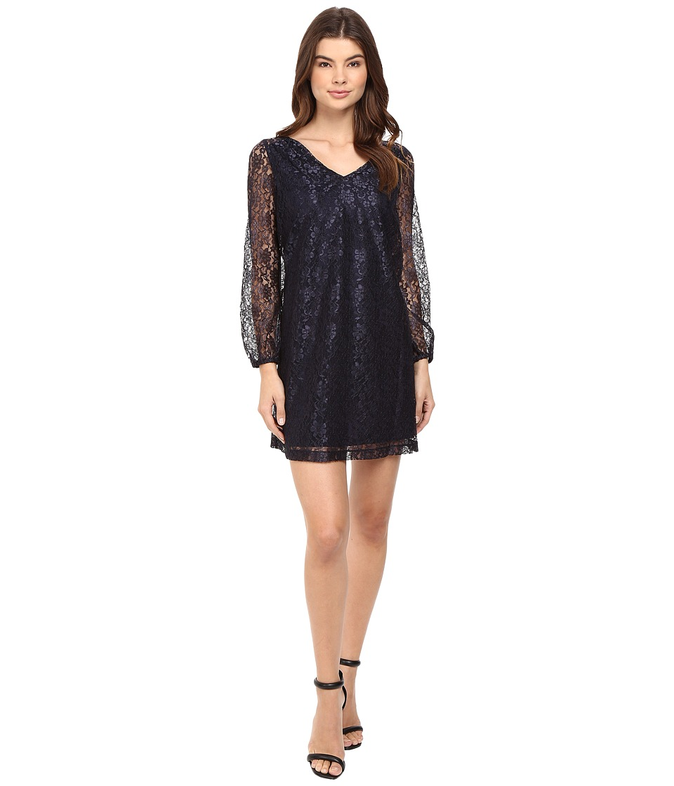 Susana Monaco Peyton Dress (Midnight) Women