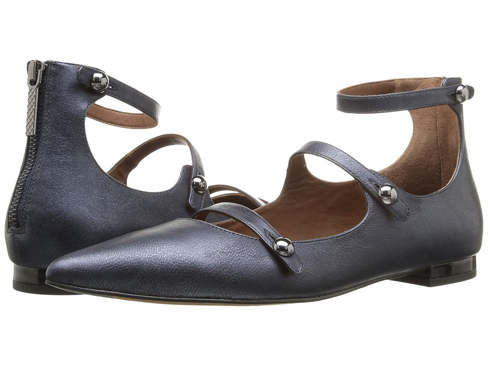 Donald J Pliner - Perez (Midnight Brushed Metallic) Women's Shoes